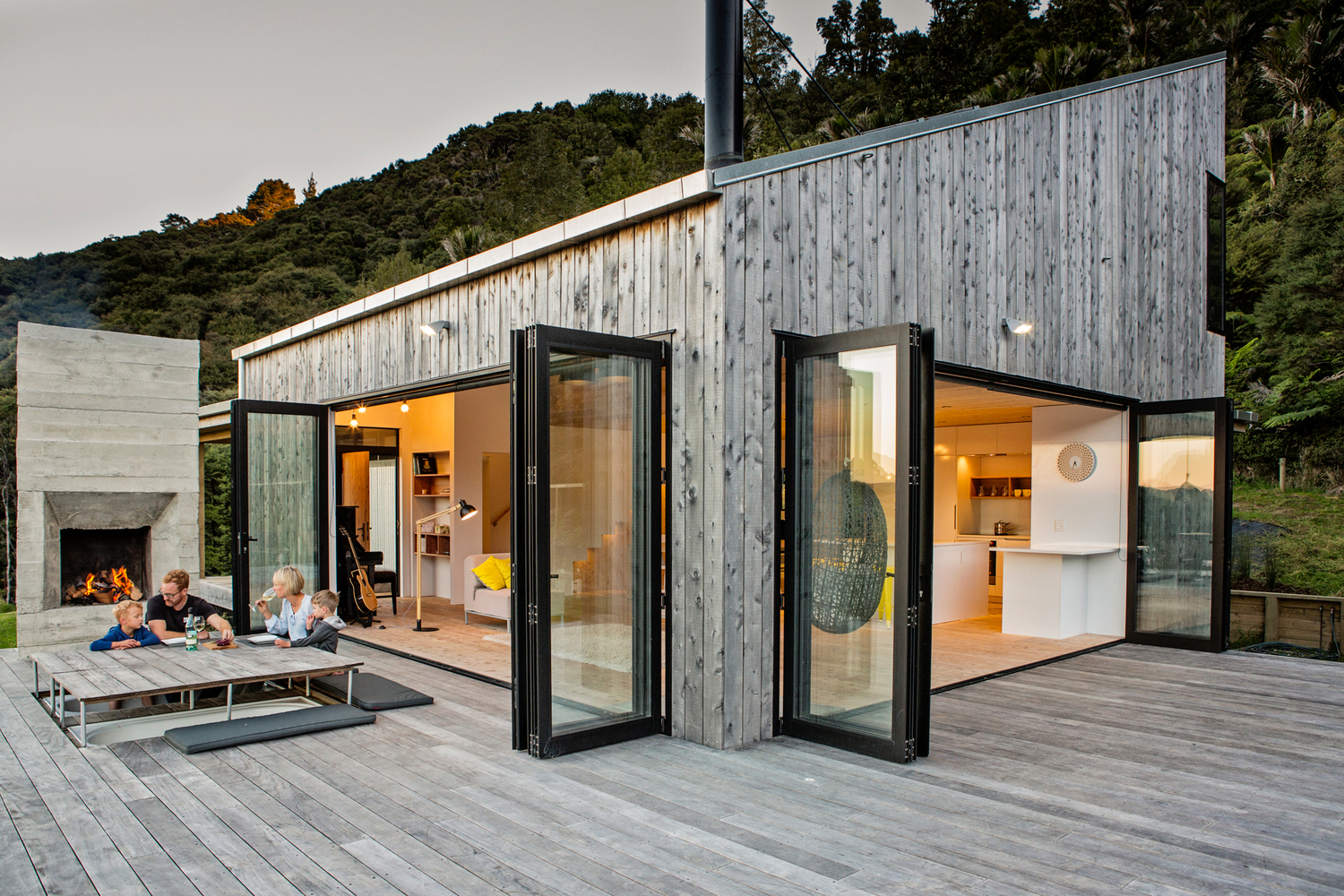 A Home Built Around Connection With Each Other and With the Landscape