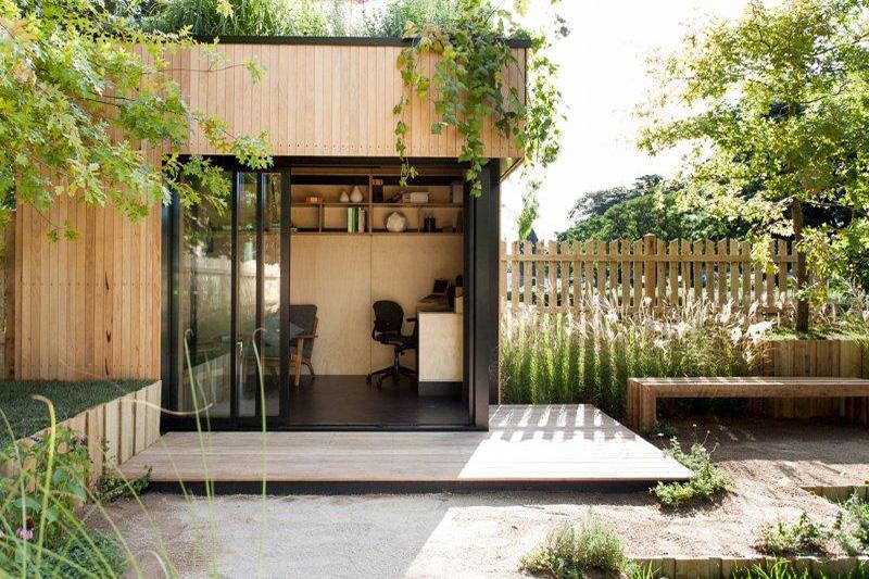 Backyard Room by Archiblox (via Lunchbox Architect)