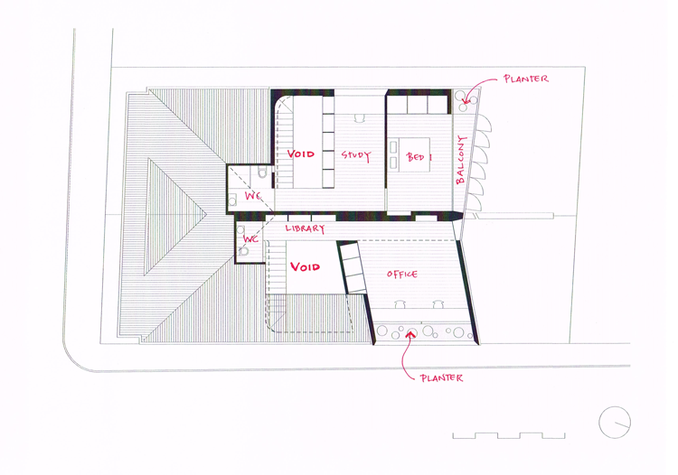 Balmain Houses First Floor Plan
