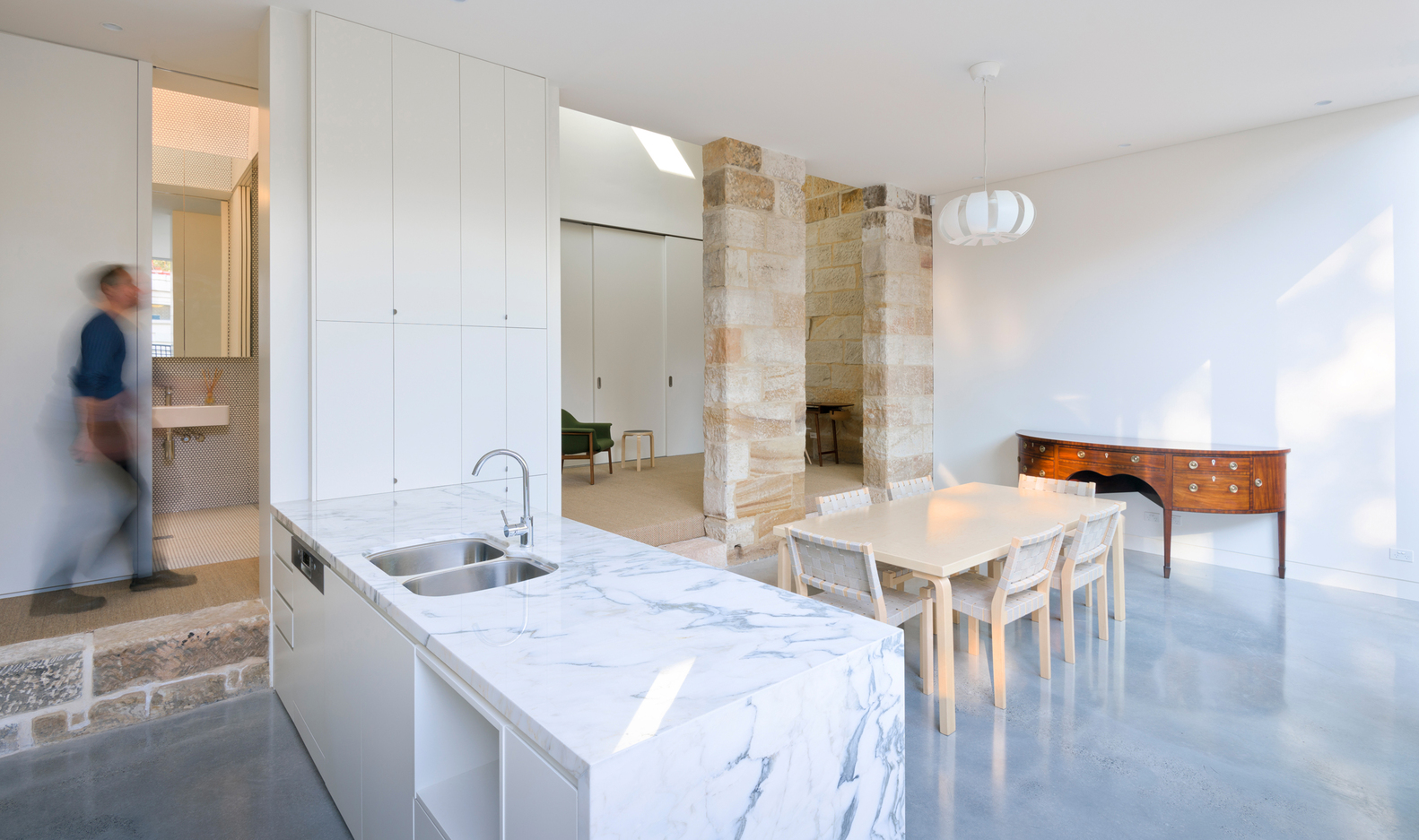 Balmain Sandstone Cottage by Carterwilliamson Architects (via Lunchbox Architect)