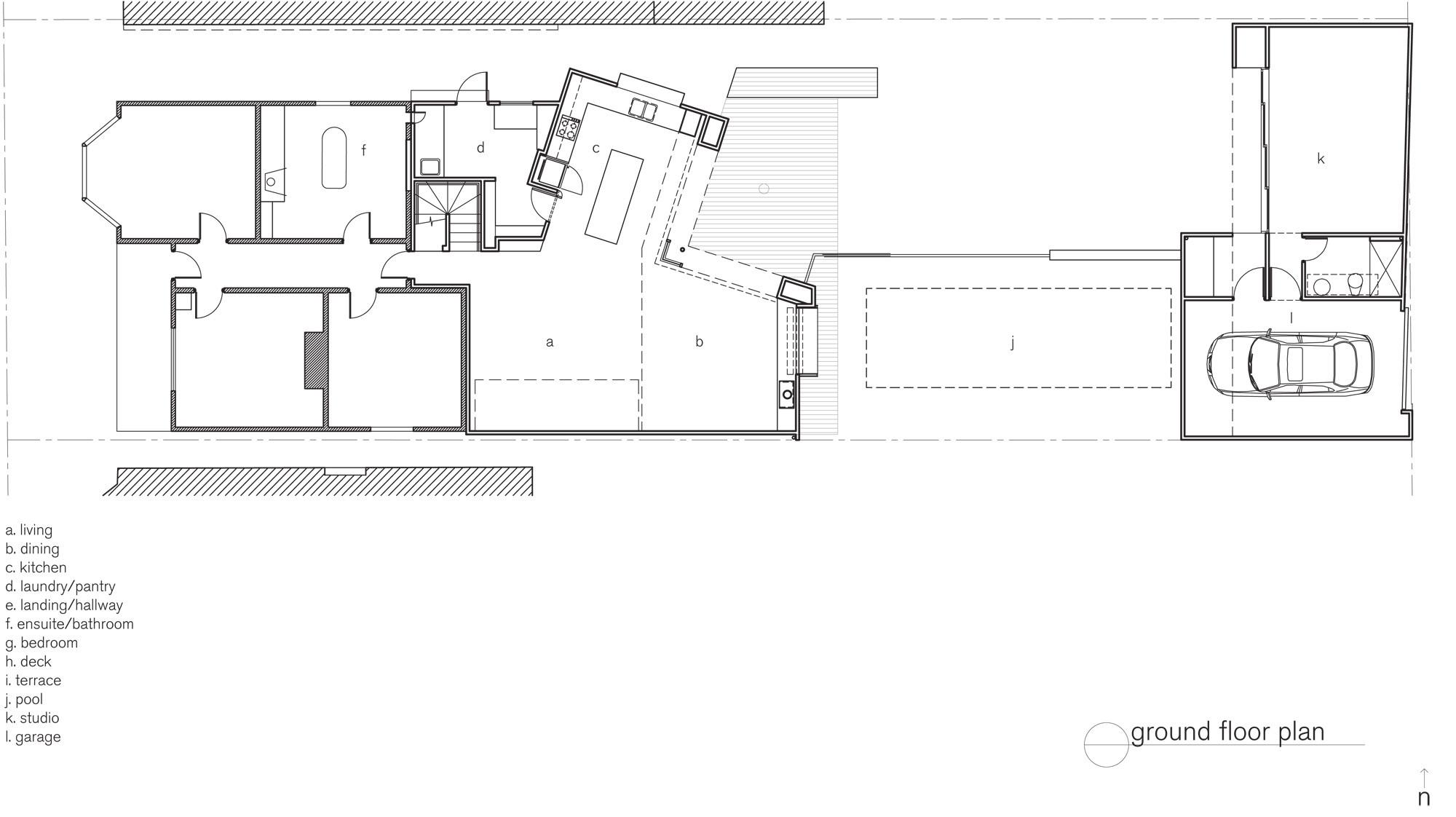 Barrow House by Andrew Maynard Architects (via Lunchbox Architect)