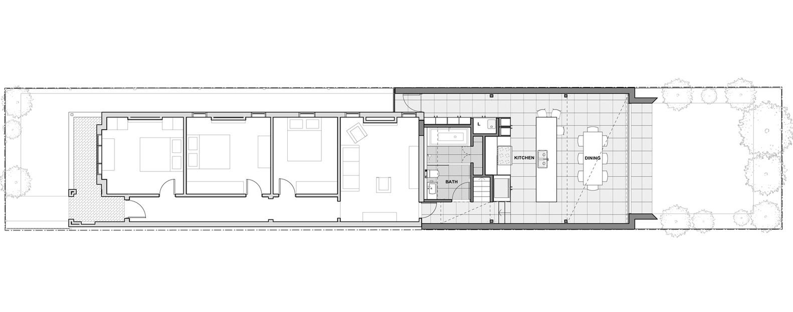 Brick Aperture House
