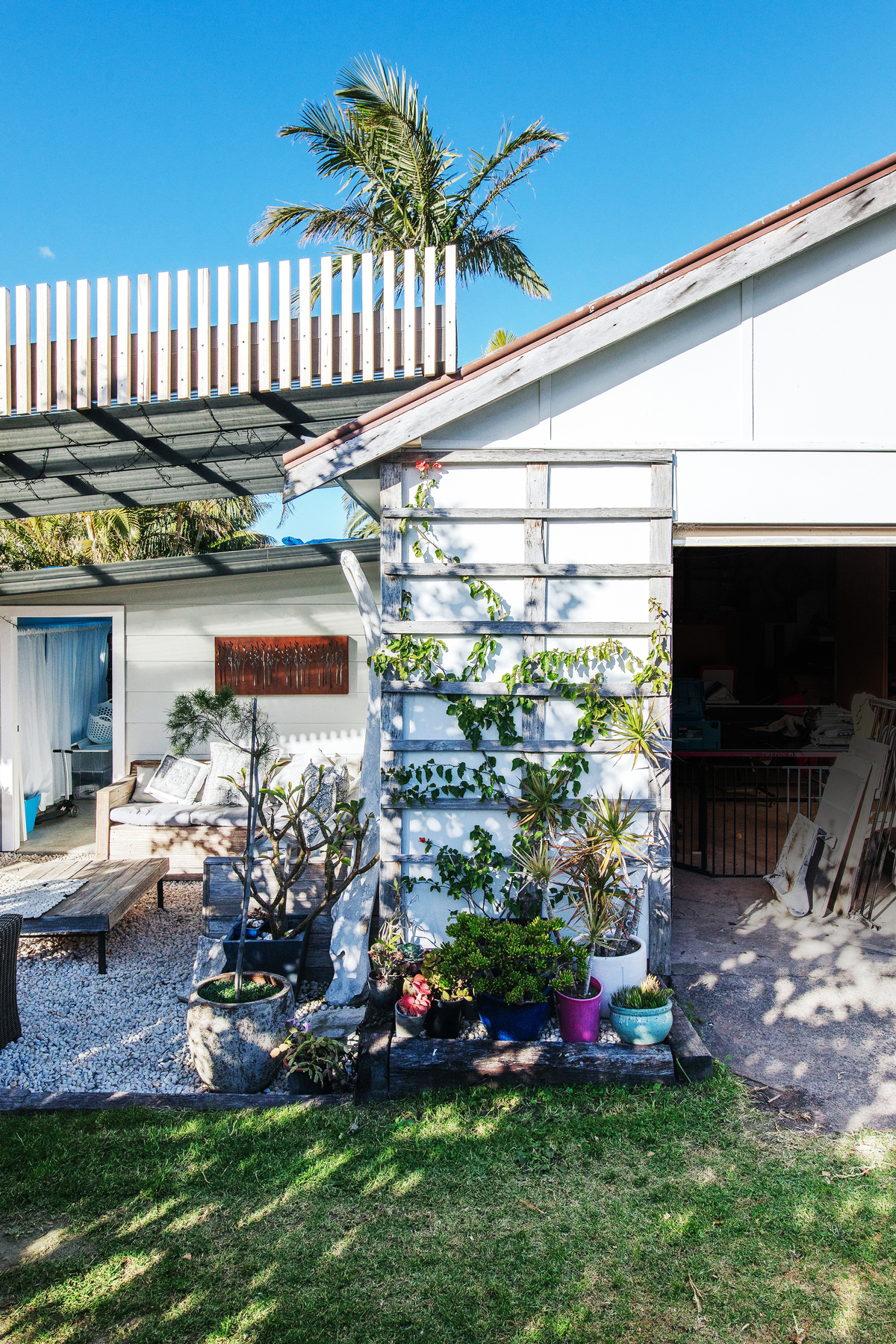This Classic Fibro Beach Shack is Updated for a Young Family