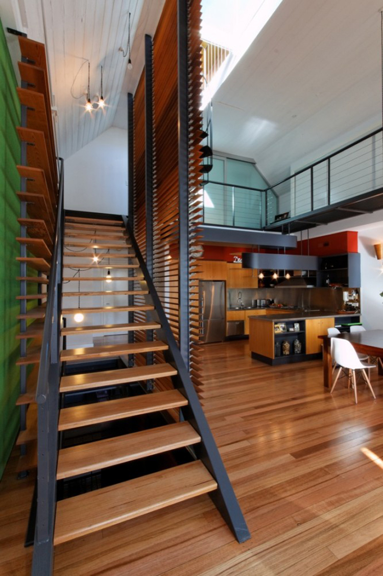 Butler House Warehouse Conversion Fitzroy by Andrew Maynard Architects (via Lunchbox Architect)