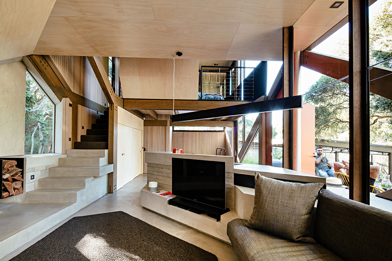 Cabin 2 by Maddison Architects (via Lunchbox Architect)