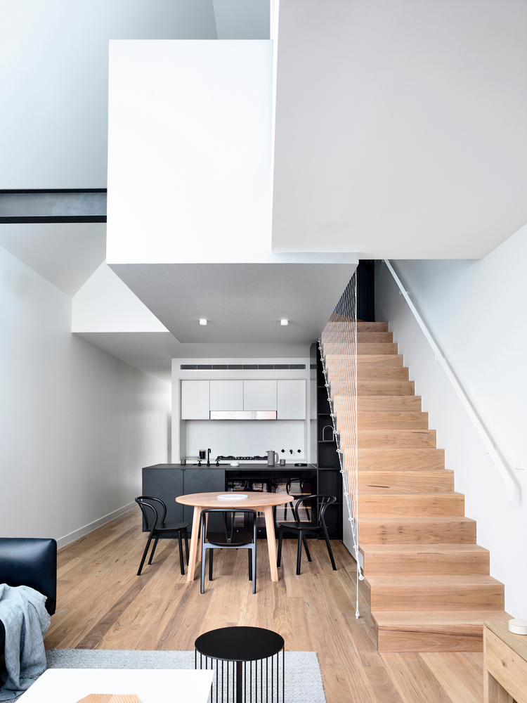 A Double Height Space Brings Light Into This Previously Dark Cottage