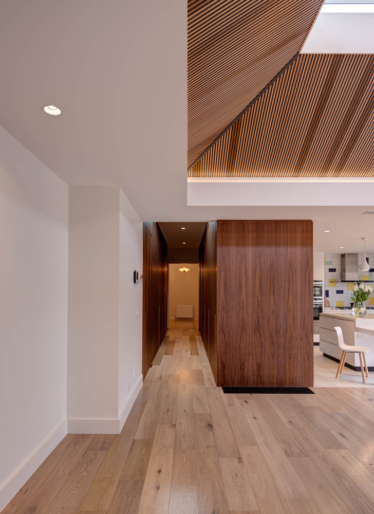 A Stunning Timber Lined Clerestory is the Centrepiece of This Reno