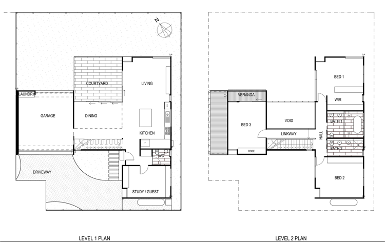 Cooks Hill Residence Plan