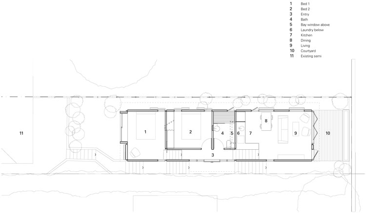 Copper House Takt Studio for Architecture Floor Plan