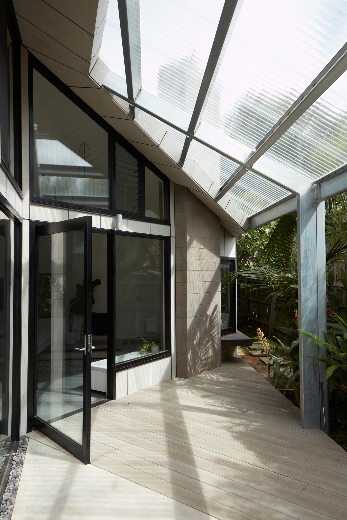 The Conventional Form of this Addition is Cut Back to Let the Sun In