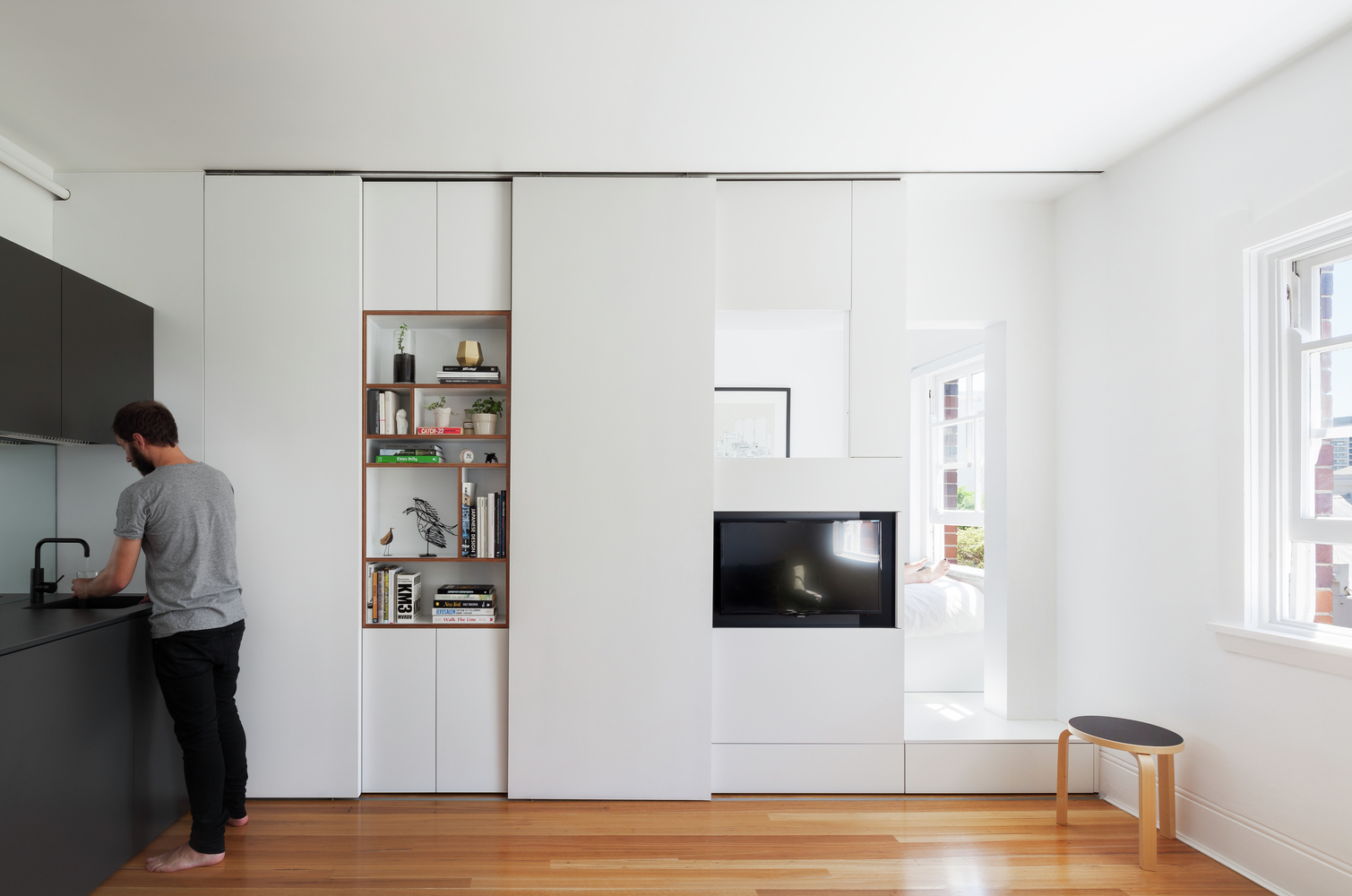 Darlinghurst Apartment by Brad Swartz Architect (via Lunchbox Architect)