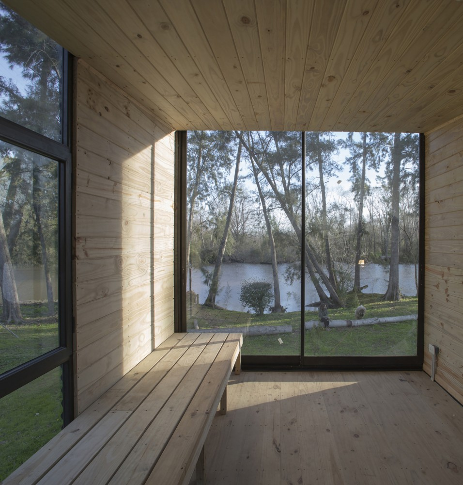 Delta Cabin by AToT Architects via Lunchbox Architect