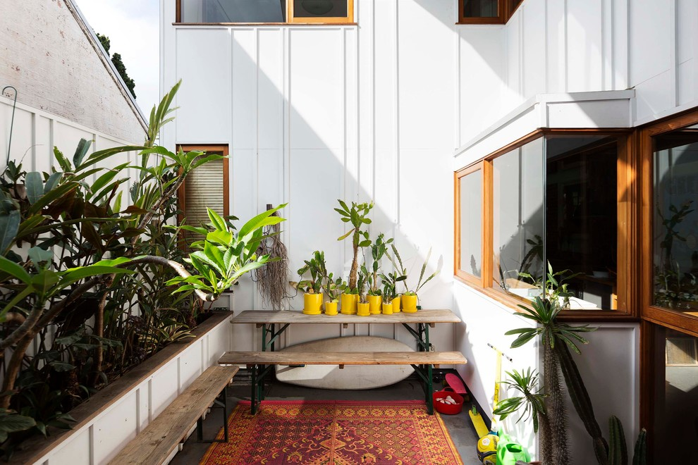 Eclectic Marrickville House 2 by David Boyle Architect (via Lunchbox Architect)