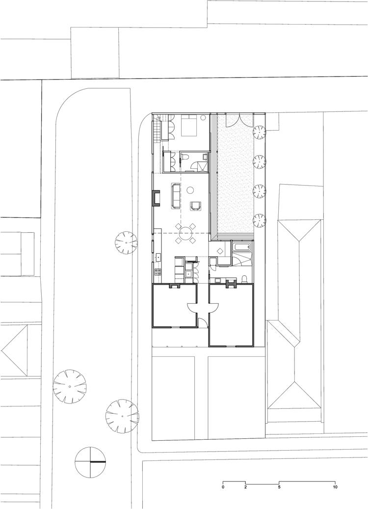 Engawa House ground floor plan