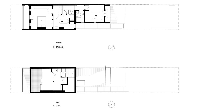 An Escher-inspired Stair Makes Living in 4 Storey Terrace More Fun