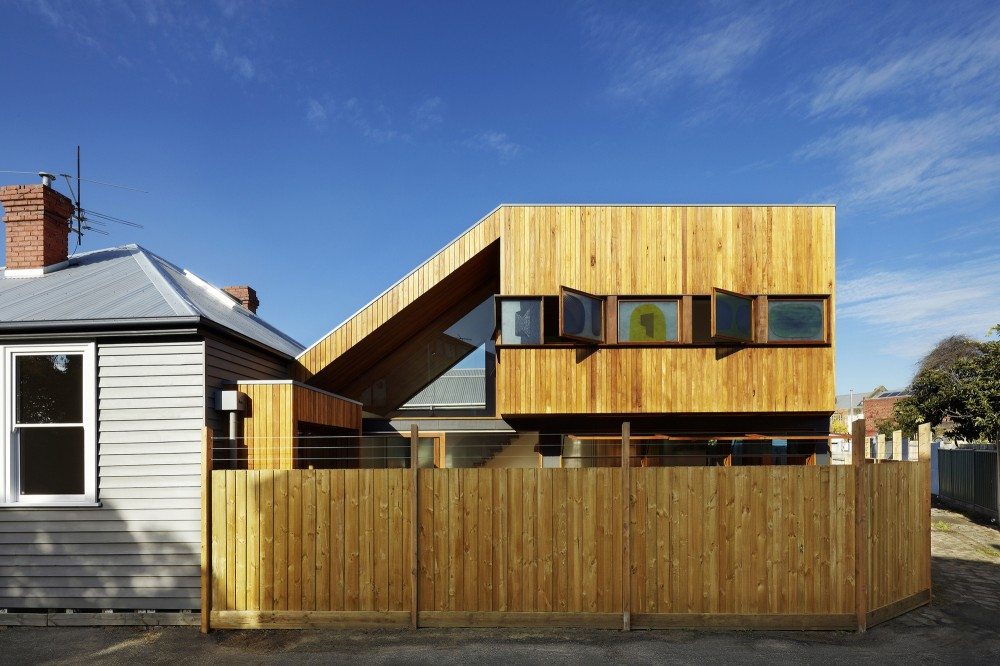 Fenwick Street House by Julie Firkin Architects (via Lunchbox Architect)