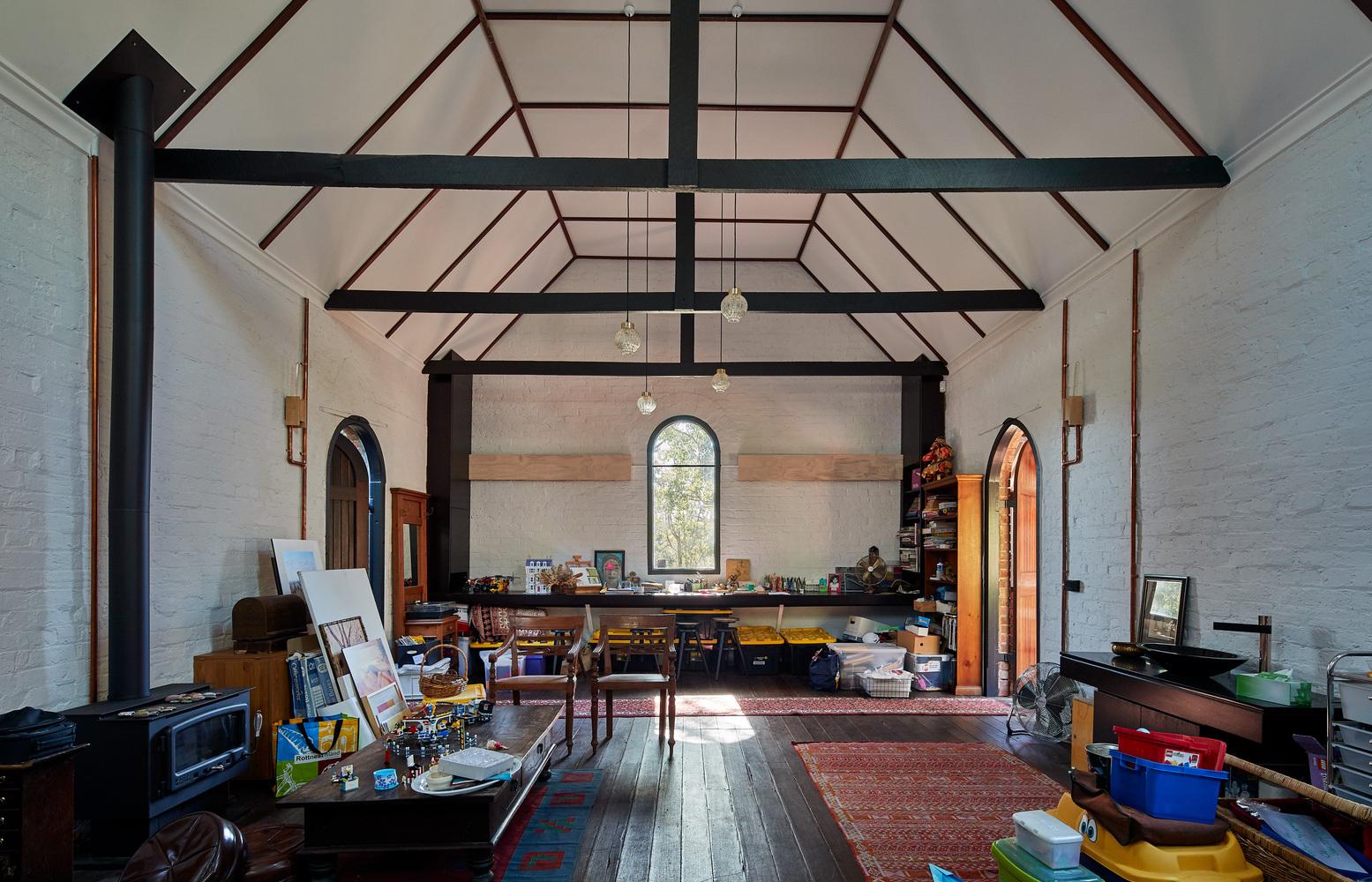 Glen Forrest House + Church