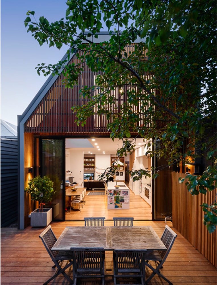 Hawthorn Residence by Alexandria Buchanan Architecture (via Lunchbox Architect)
