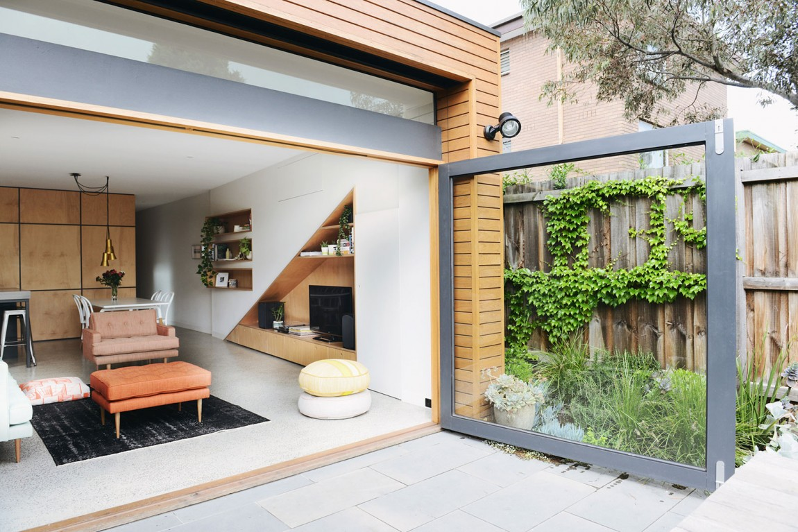 Holden Street House by Nest Architects (via Lunchbox Architect)