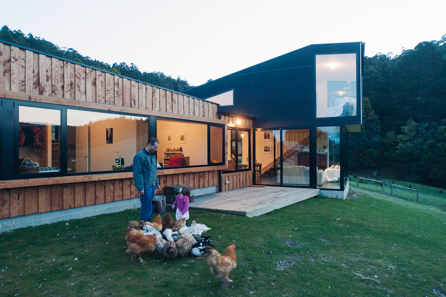 Holly Tree Farm by Cykel Architecture (via Lunchbox Architect)