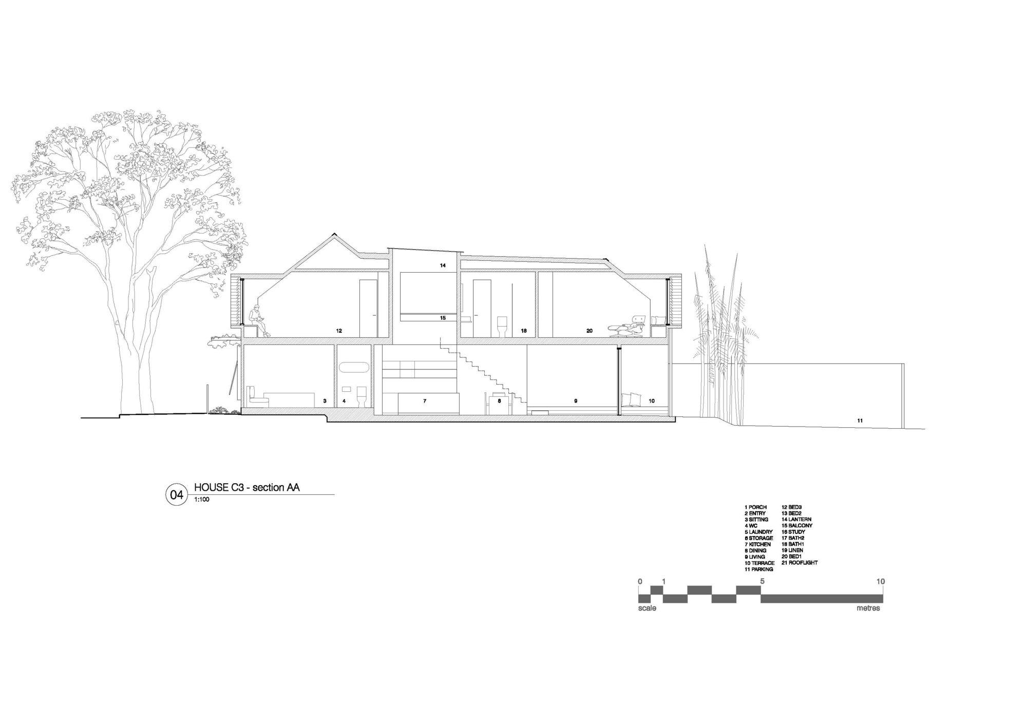 House C3 by Campbell Architecture (via Lunchbox Architect)