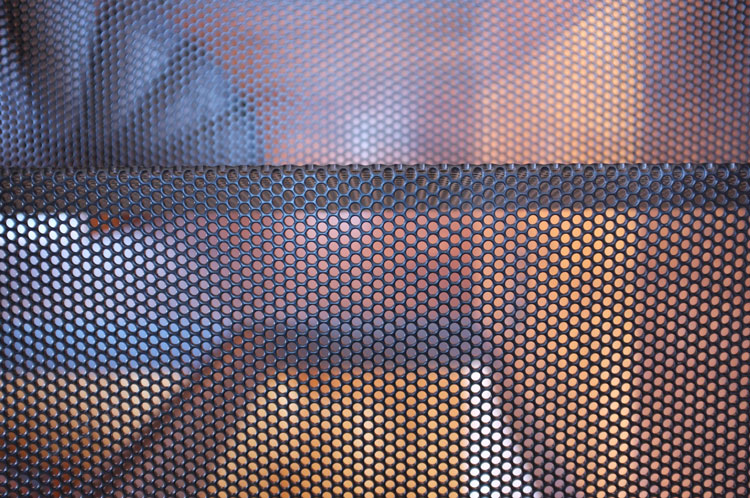 Perforated steel in HOUSE House Lunchbox Architect