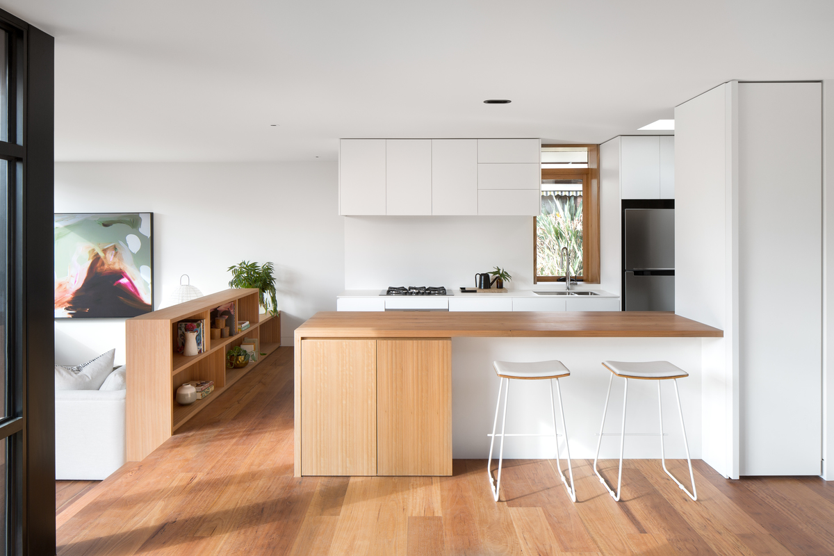 A 1960s Unit is Transformed into a Modern Family Home