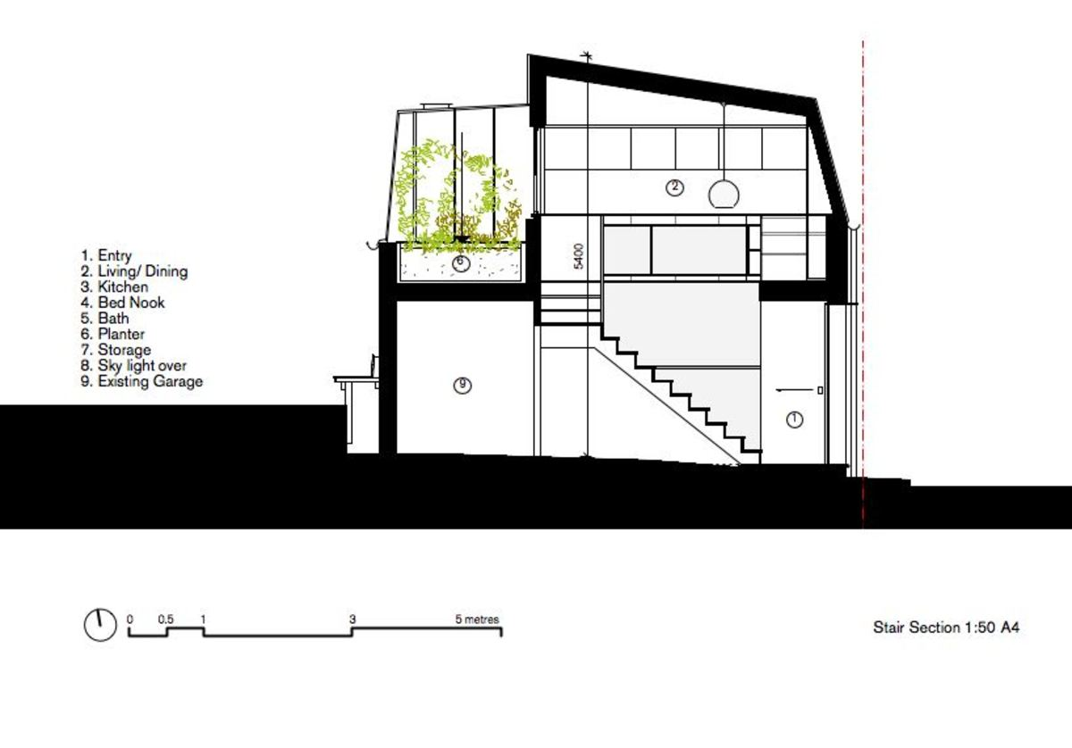 A Laneway Studio Designed as a Prototype for Developing Our Suburbs