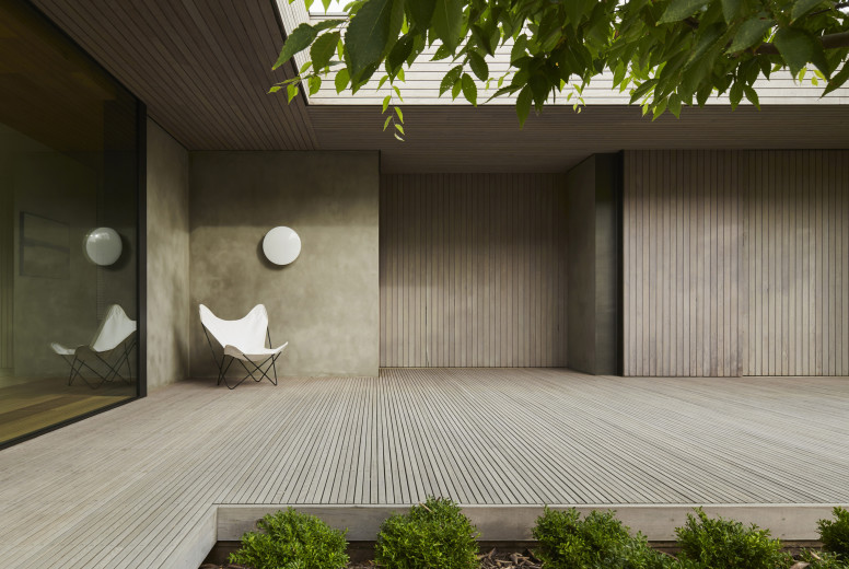 Links Courtyard House - Inarc Architects