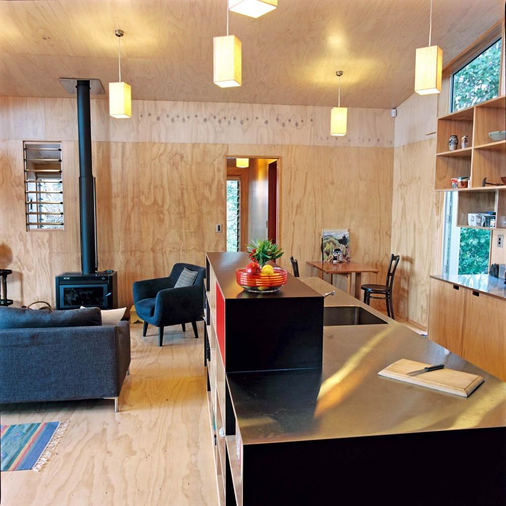 Lloyd Holiday House Beach Bach New Zealand by Atelierworkshop (via Lunchbox Architect)