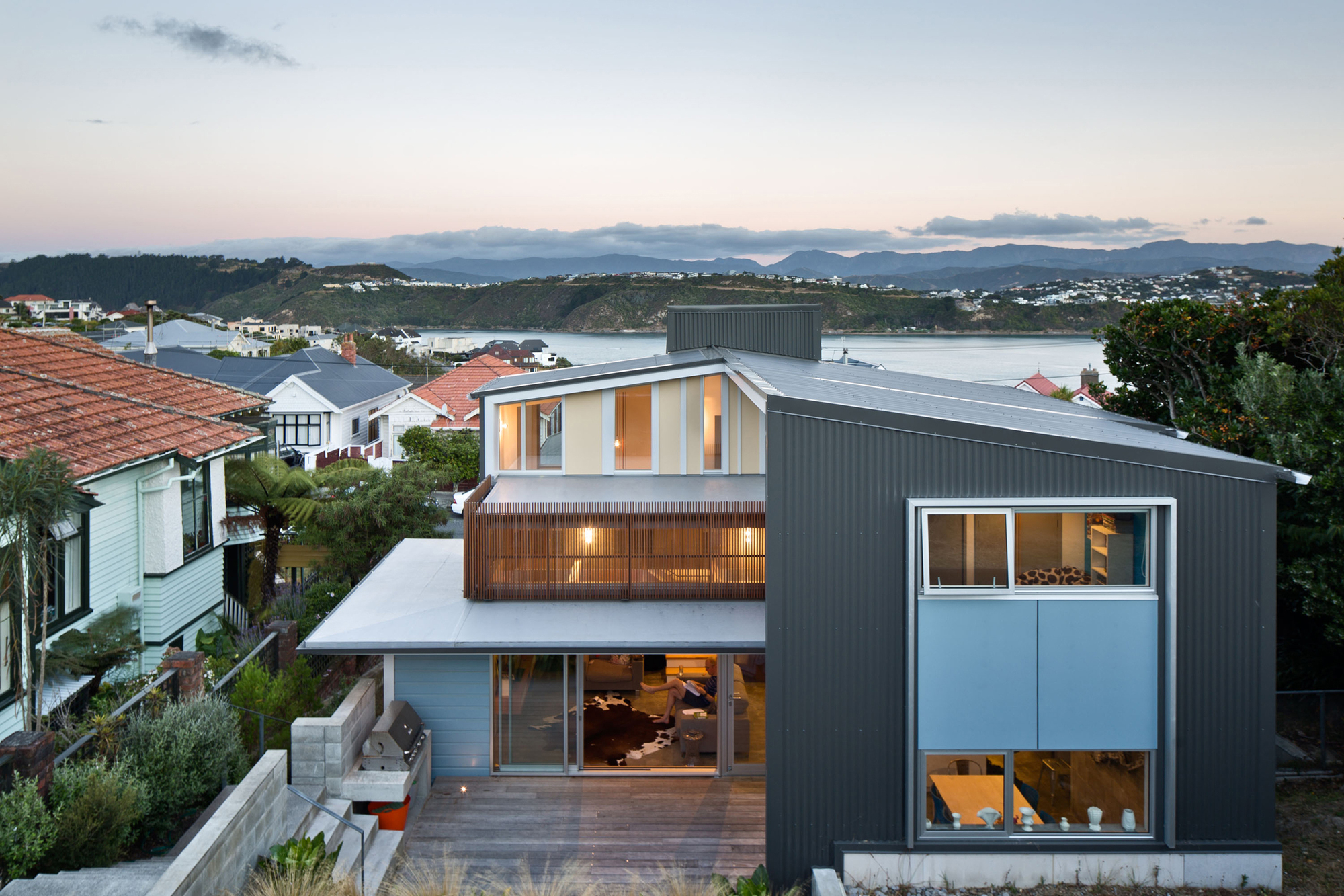 Matai House by Parsonson Architects (via Lunchbox Architect)