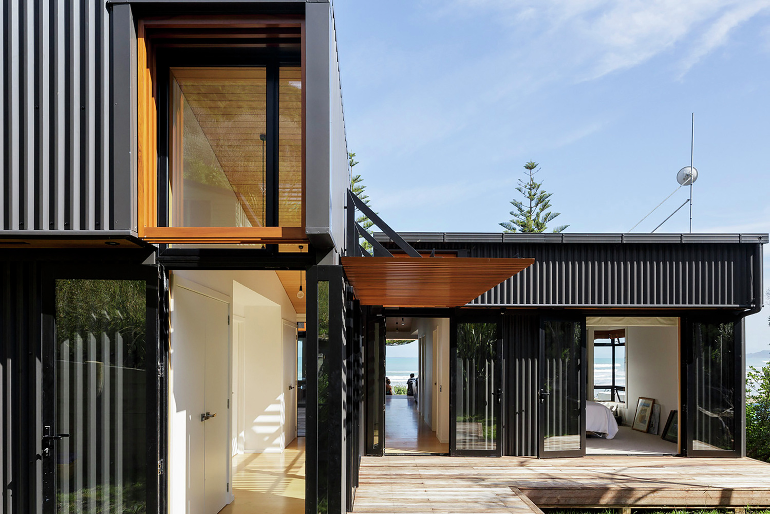 OffSET House by Irving Smith Jack Architects (via Lunchbox Architect)
