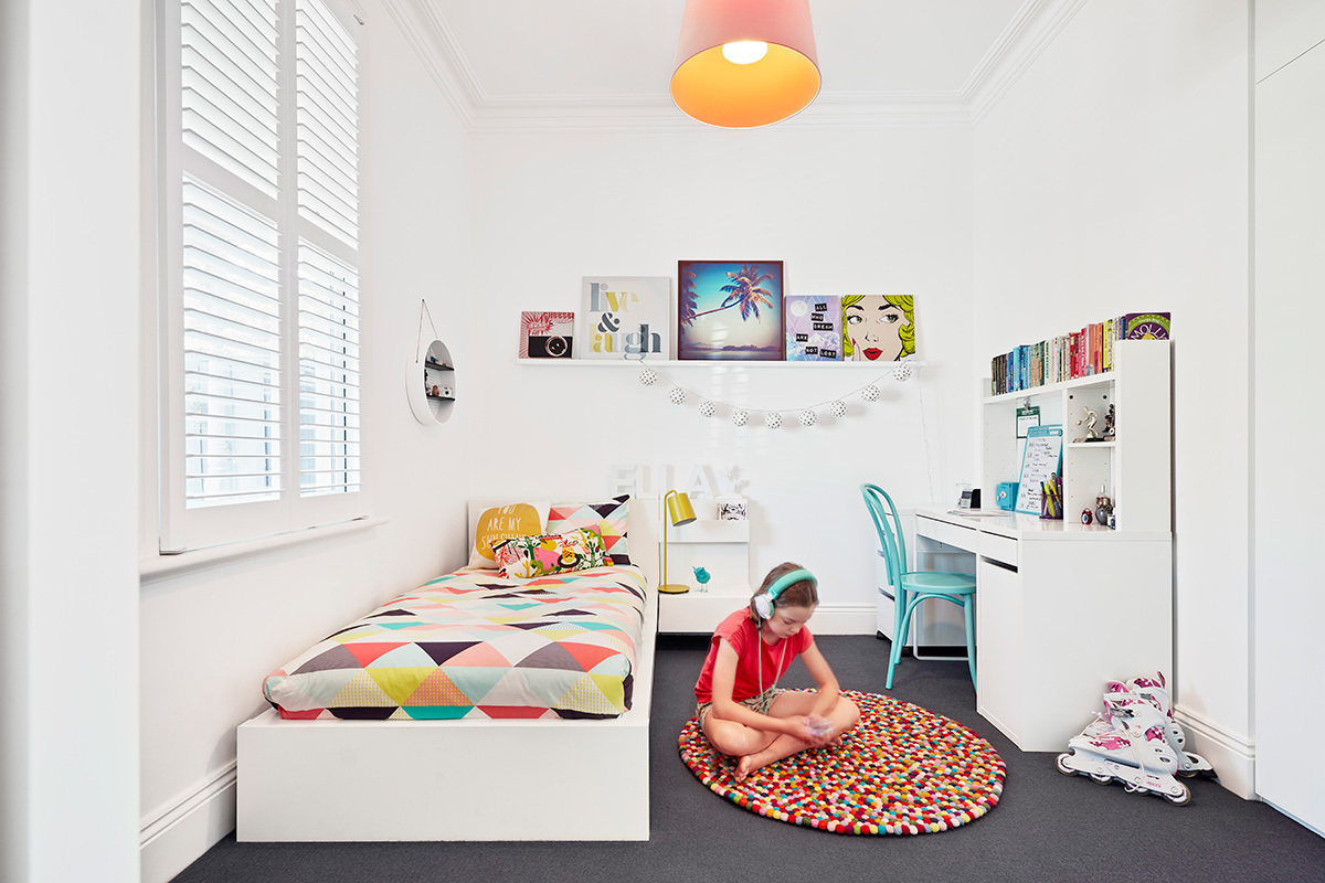 An Unexpectedly Colourful and Playful Addition to a Heritage Home