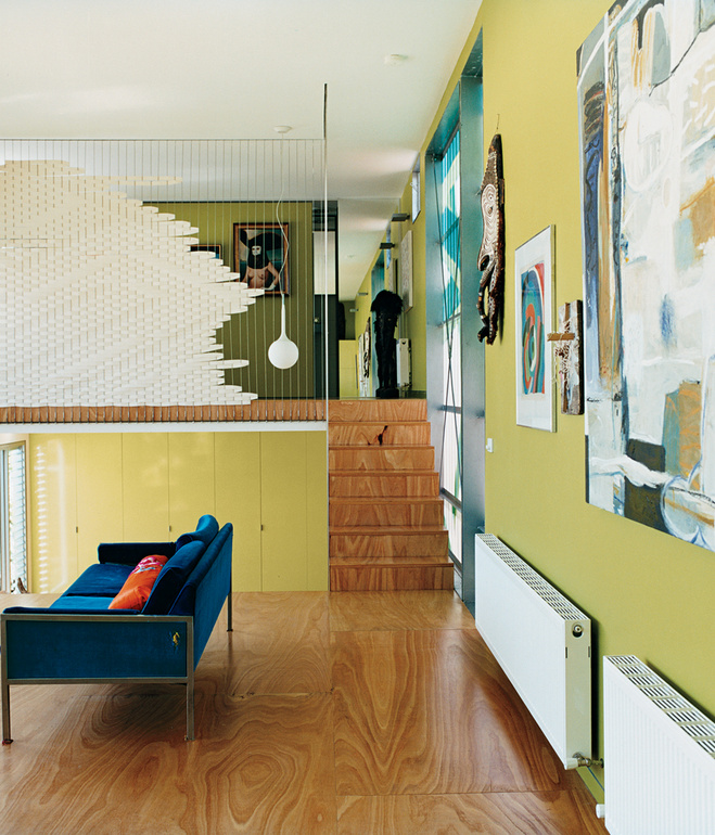 Polygreen has a bright and spacious feeling living area