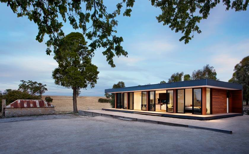 Prefab Staff Accommodation in Malmsbury - Modscape