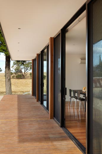 Prefab-ulous Digs for a Couple of Jackaroos on This Malmsbury Farm