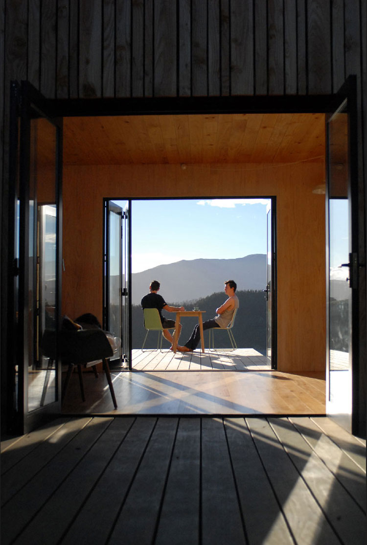Prefab Warrander Studio by Makers of Architecture (via Lunchbox Architect)