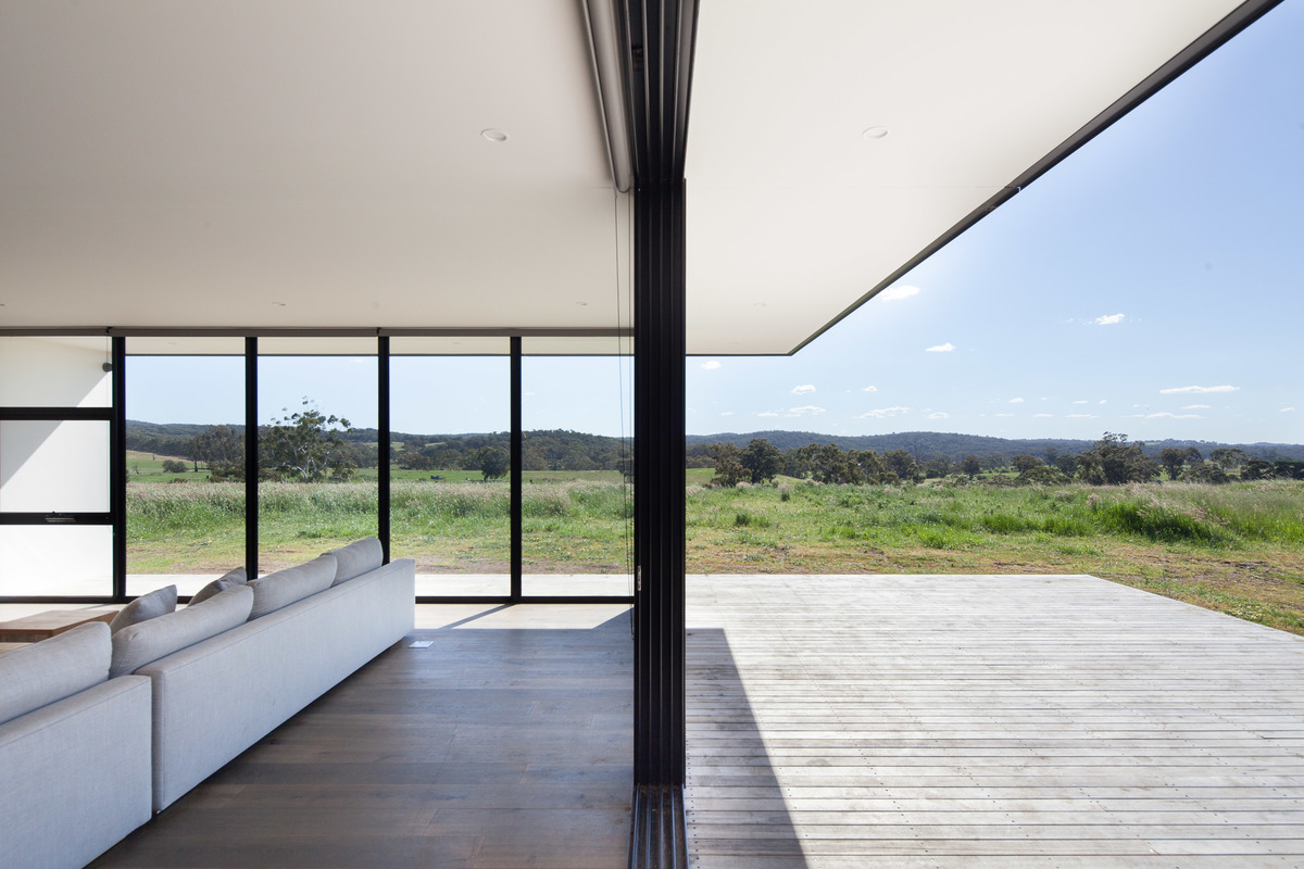 An Off-Grid, Sustainable House in the Victorian Central Highlands
