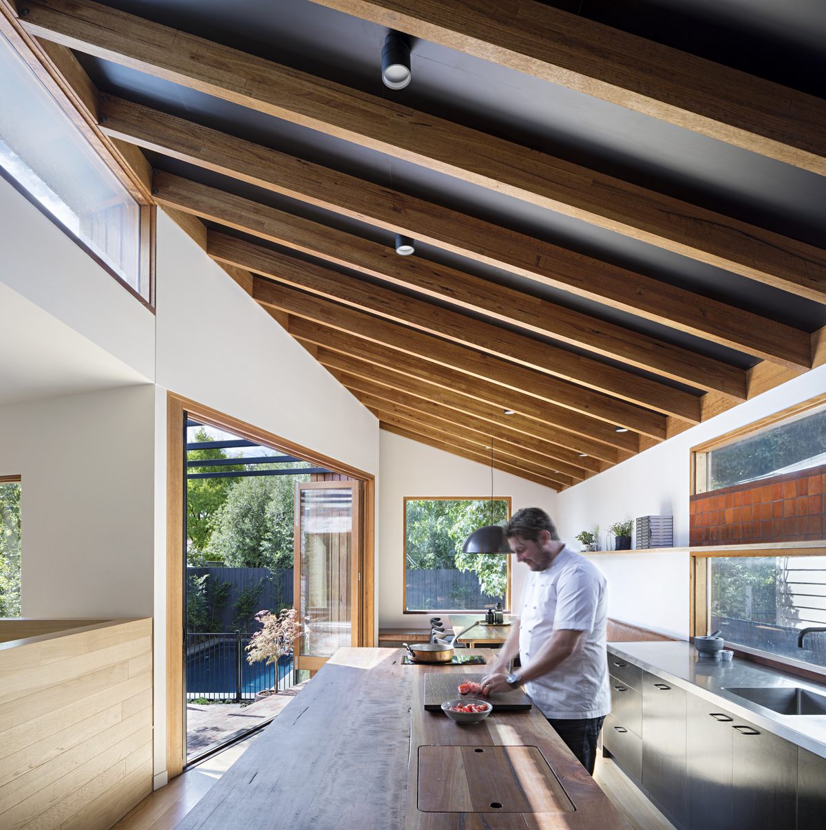 Take a Look at the Kitchen of This Renowned Chef and Restaurateur