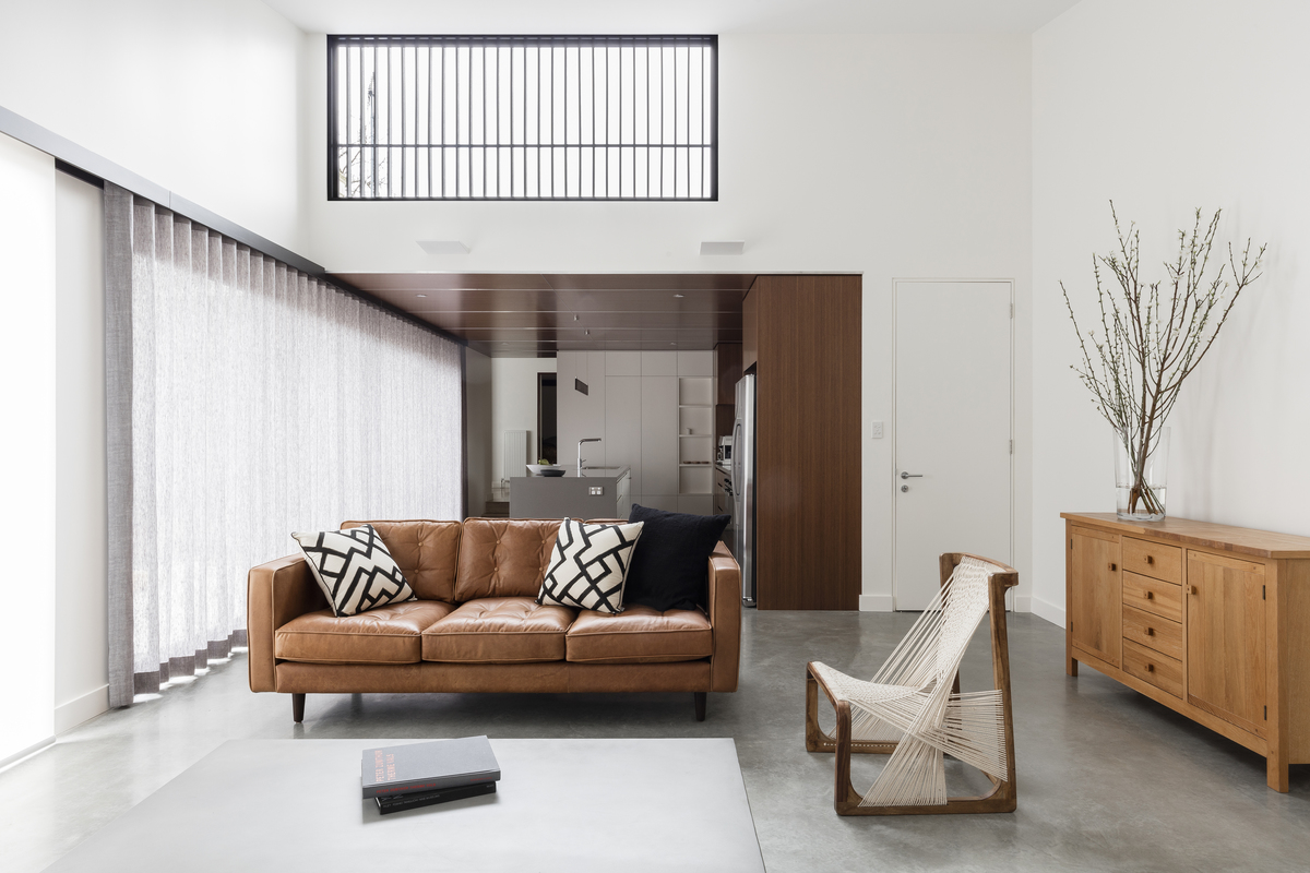 North Facing Living Spaces Provide Space and Light to This Home