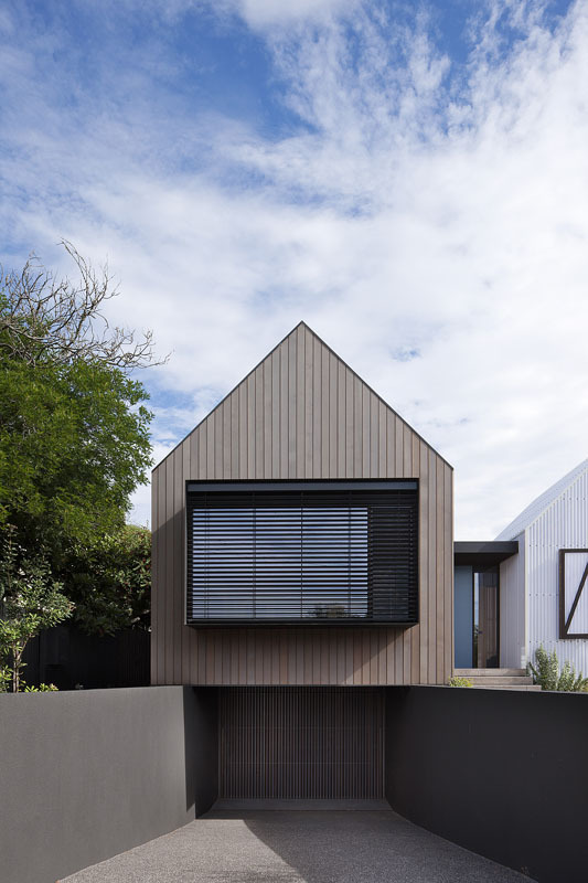 Seaview House by Jackson Clements Burrows Architects (via Lunchbox Architect)