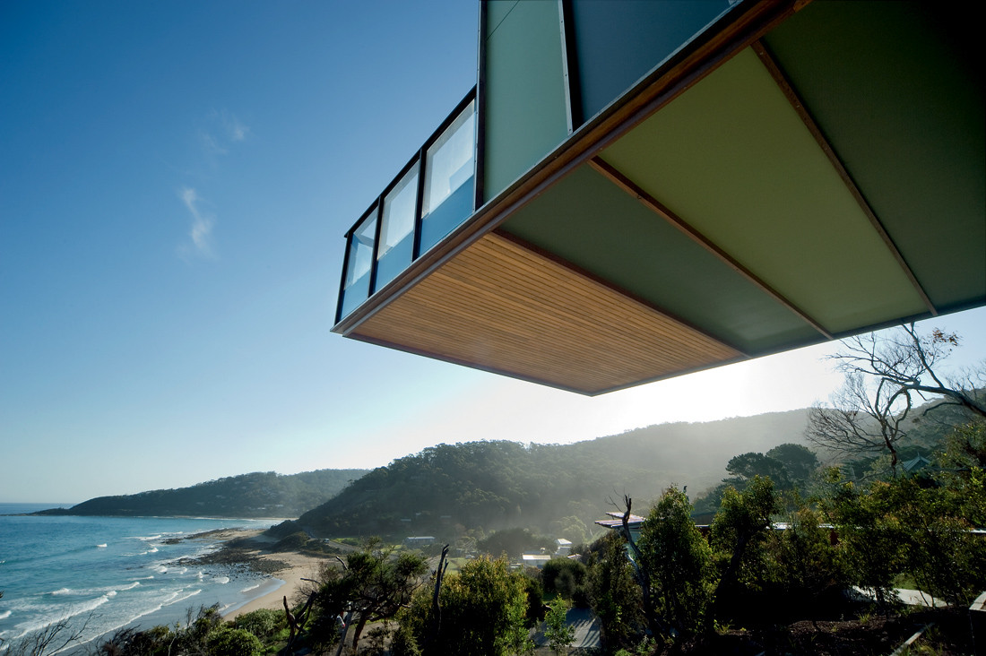 Separation Creek House by Jackson Clements Burrows Architects (via Lunchbox Architect)