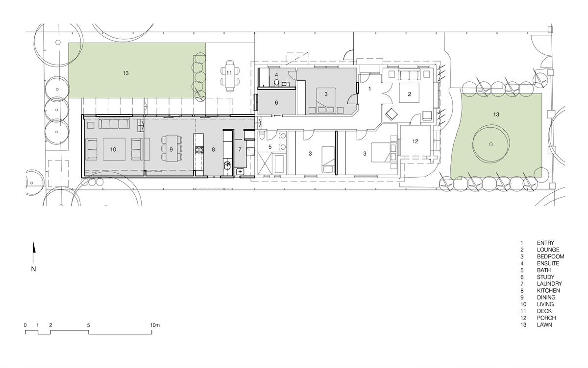 Side Yard House