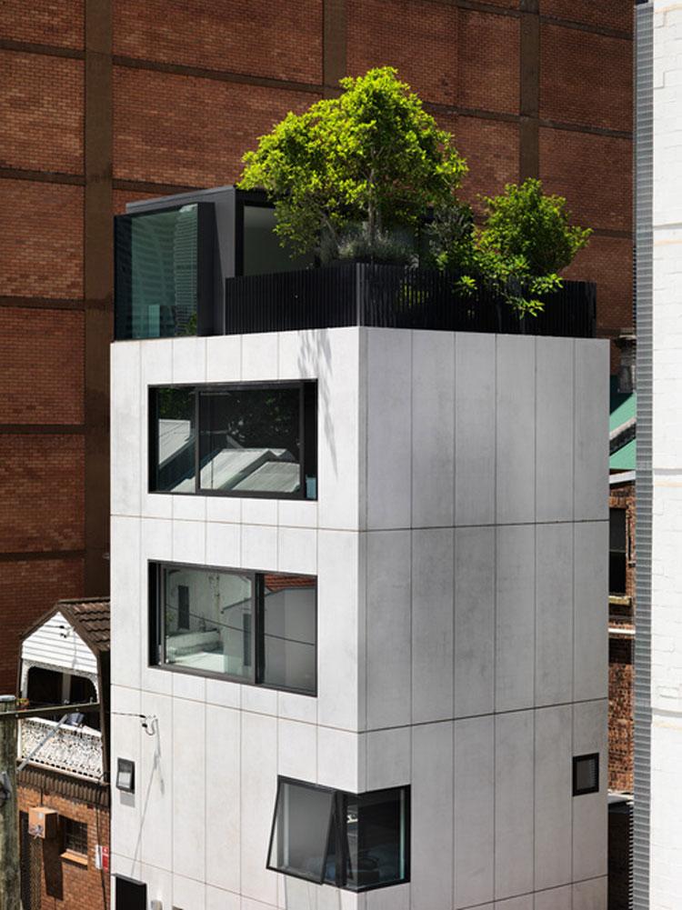 Small House precast concrete exterior