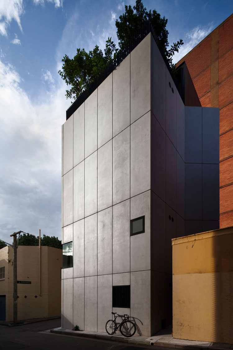 Small House facade