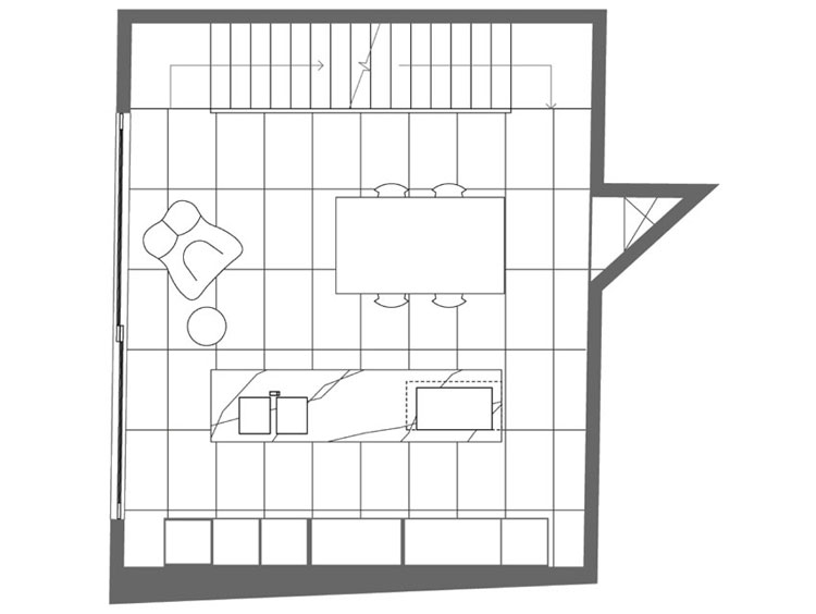 Small House Second Floor Plan