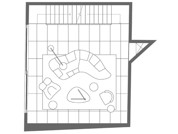 Small House Third Floor Plan