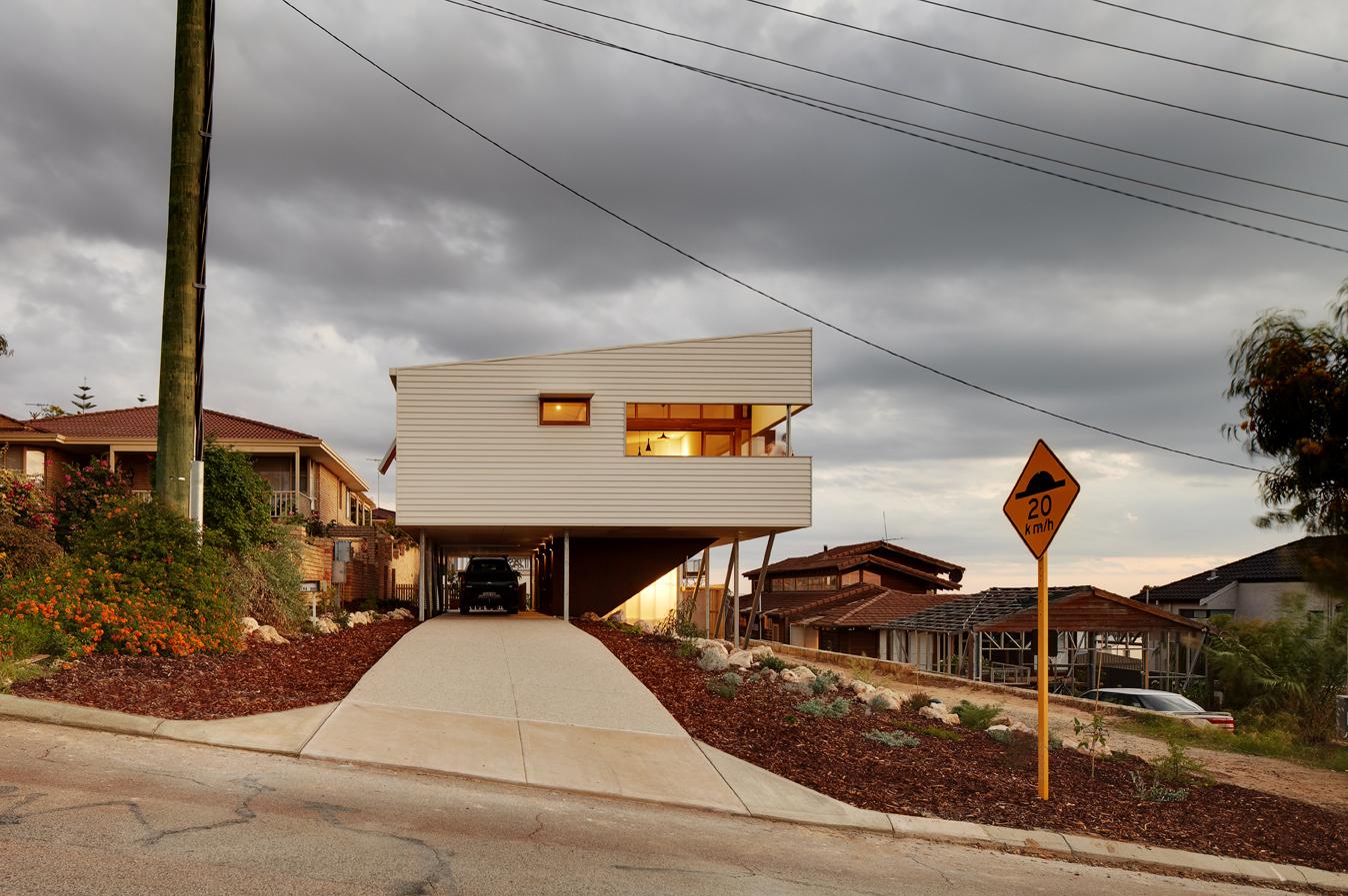 Suburban Beach House