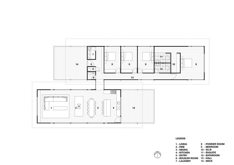 Sugar Gum House Floor Plan