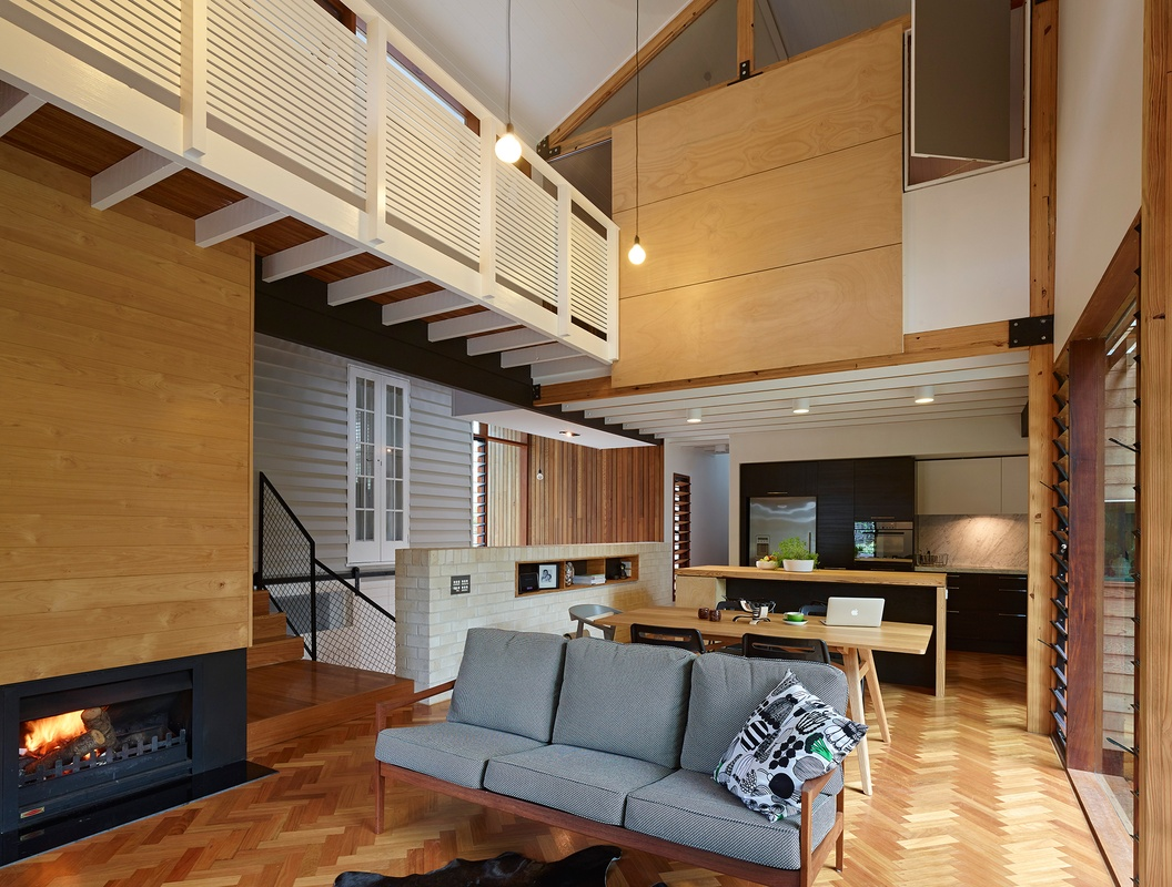 Tennis Avenue Residence by DM2 Architecture (via Lunchbox Architect)